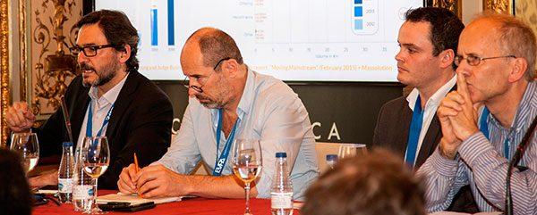 José Moncada en la reunión anual de la EVPA