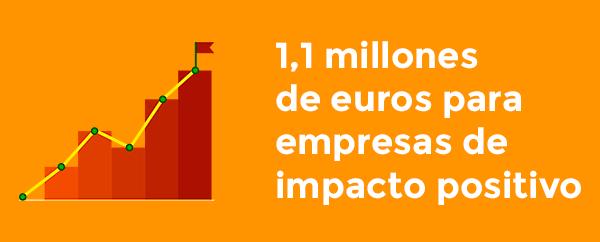 Un millón de euros de inversión de impacto
