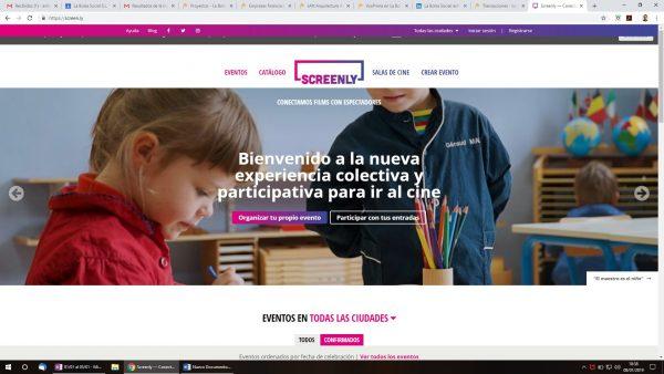 screenly - La Bolsa Social La Bolsa Social
