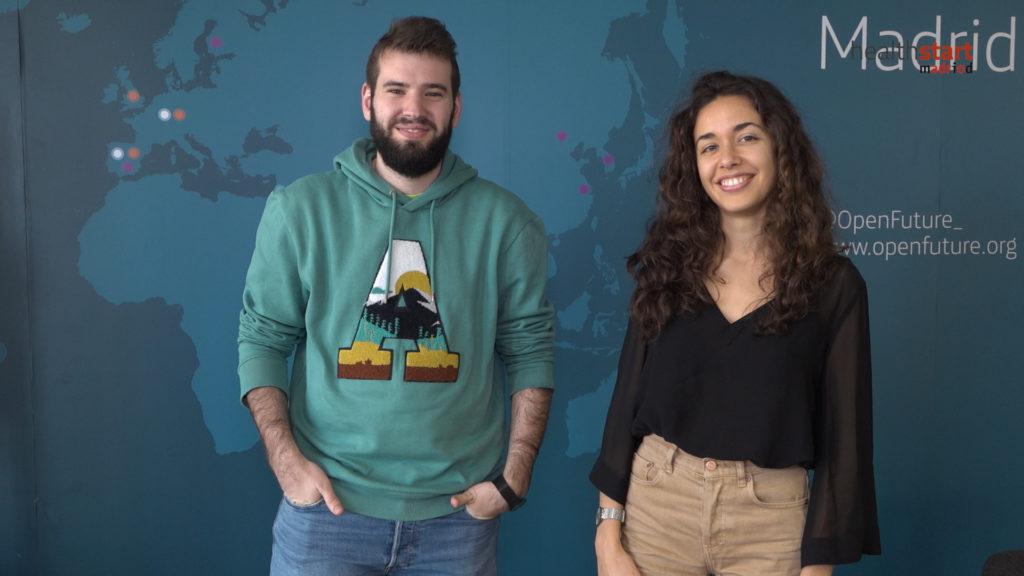 María González y Marcos Rubio, fundadores de Tucuvi
